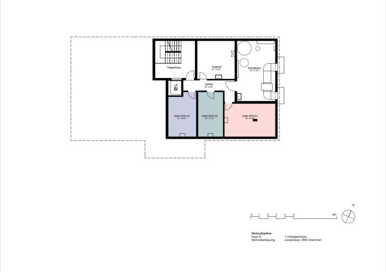 Haus A- 1. Untergeschoss