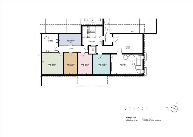 Haus B - Untergeschoss