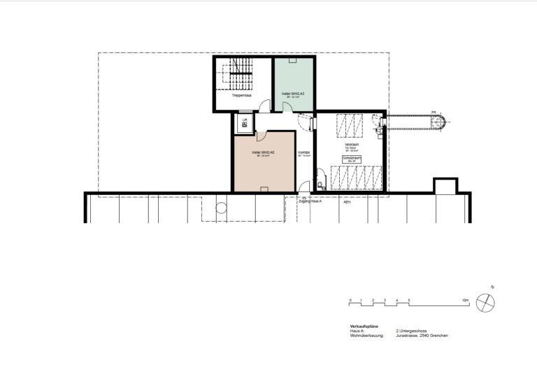 Haus A - 2. Untergeschoss