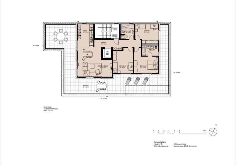 Haus A / B - Attikageschoss